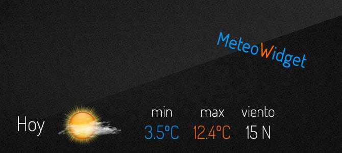 MeteoWidget